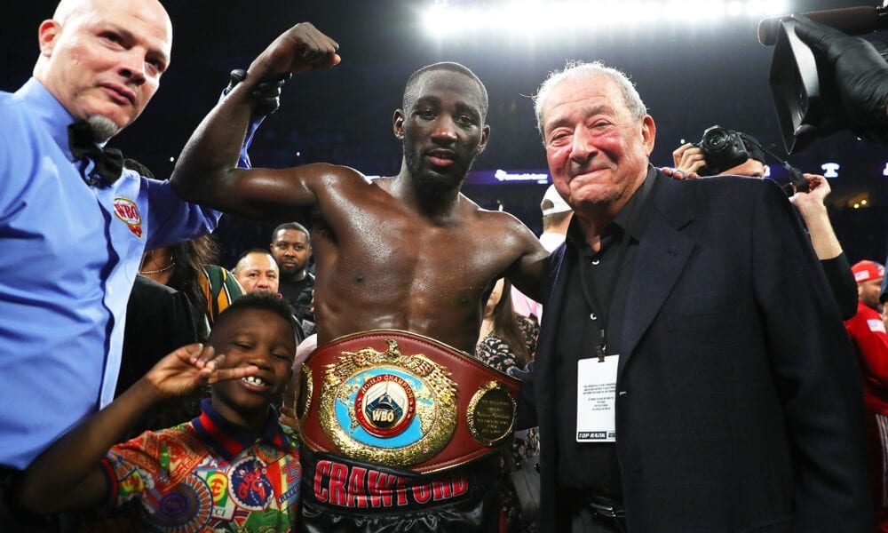 Arum War Of Words About Terence Crawford Escalates