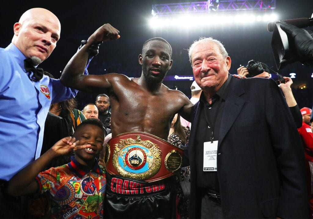 Report- Top Rank Secured Crawford-Porter Fight Without Purse Bid