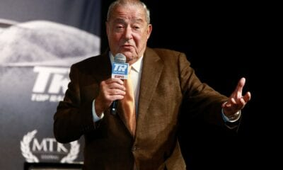 "Top Rank's Arum On Crawford-Pacquiao- ""It Was Set To Take Place"""