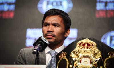 Manny Pacquiao Back Training- Fight Announcement Coming