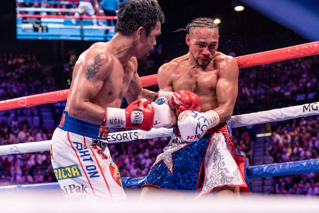 Manny Pacquiao Sued; Injunction To Stop Errol Spence Jr. Fight Filed