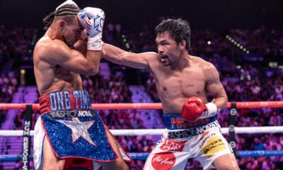 Manny Pacquiao-Errol Spence Lands At T-Mobile Arena