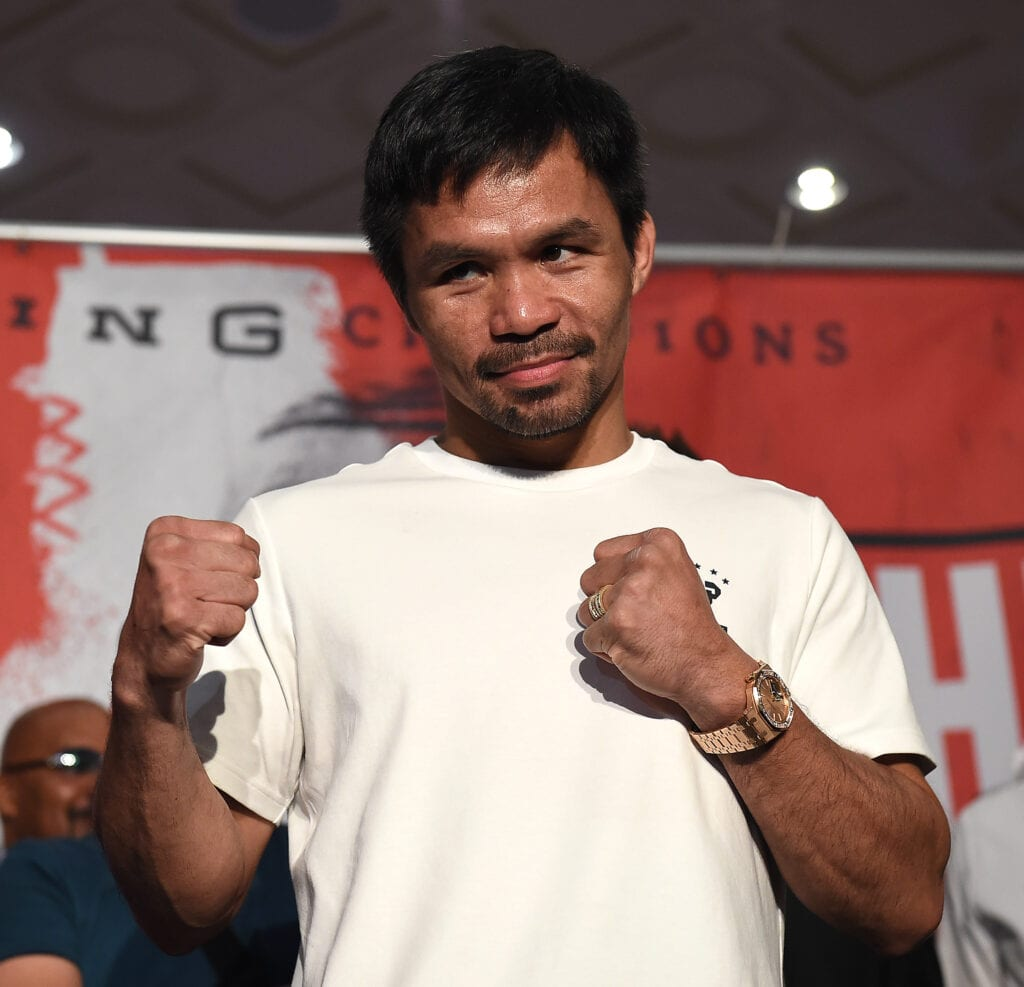 Manny Pacquiao-Errol Spence Had Their Initial Presser