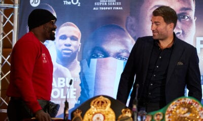 "Dereck Chisora Chides Eddie Hearn- ""You Sold Your Soul to Russians"""