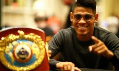 Emanuel Navarrete Retains By TKO Against Diaz