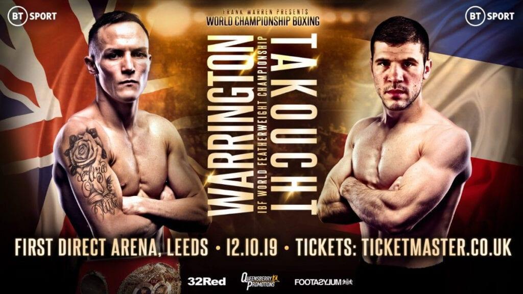 Josh Warrington beats Sofiane Takoucht to defend IBF title