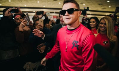 Canelo- Callum Smith Confirmed For Alamodome