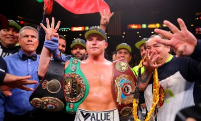 Matchroom Boxing Confirms Canelo-Callum Smith December 19th