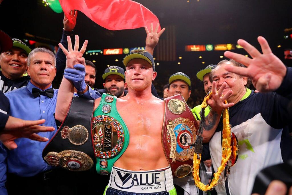 Matchroom Boxing Confirms Canelo-Callum Smith December 19th
