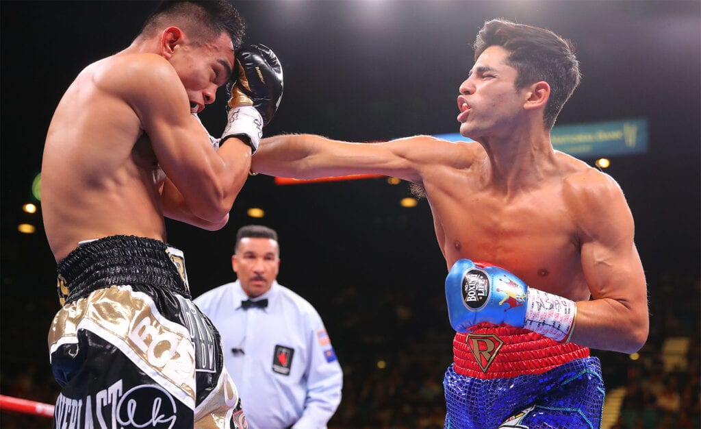 Ryan Garcia Luke Campbell January Bout Set For Dallas Big Fight Weekend