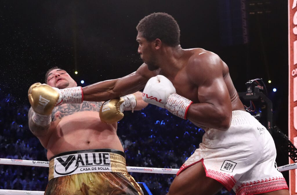 Anthony Joshua Says Ruiz Rematch Pressure Made Him Tougher