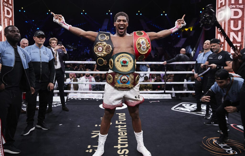 Anthony Joshua Concedes He's Likely Dropping WBO Title