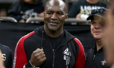 Report- Evander Holyfield To Return In June But Not Against Tyson