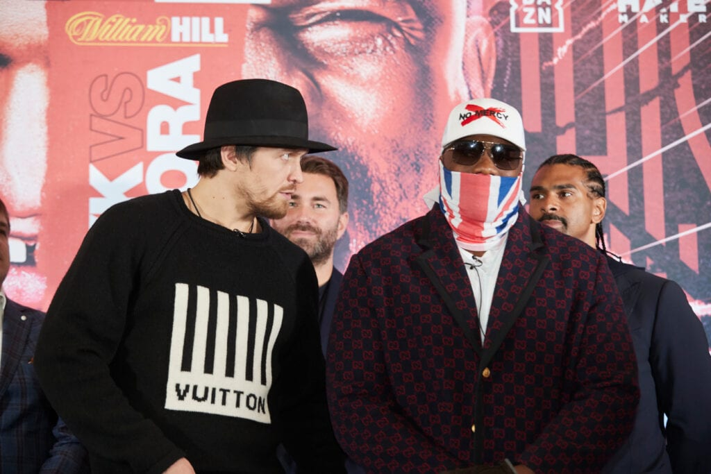 Matchroom Confirms Usyk-Chisora Showdown For October