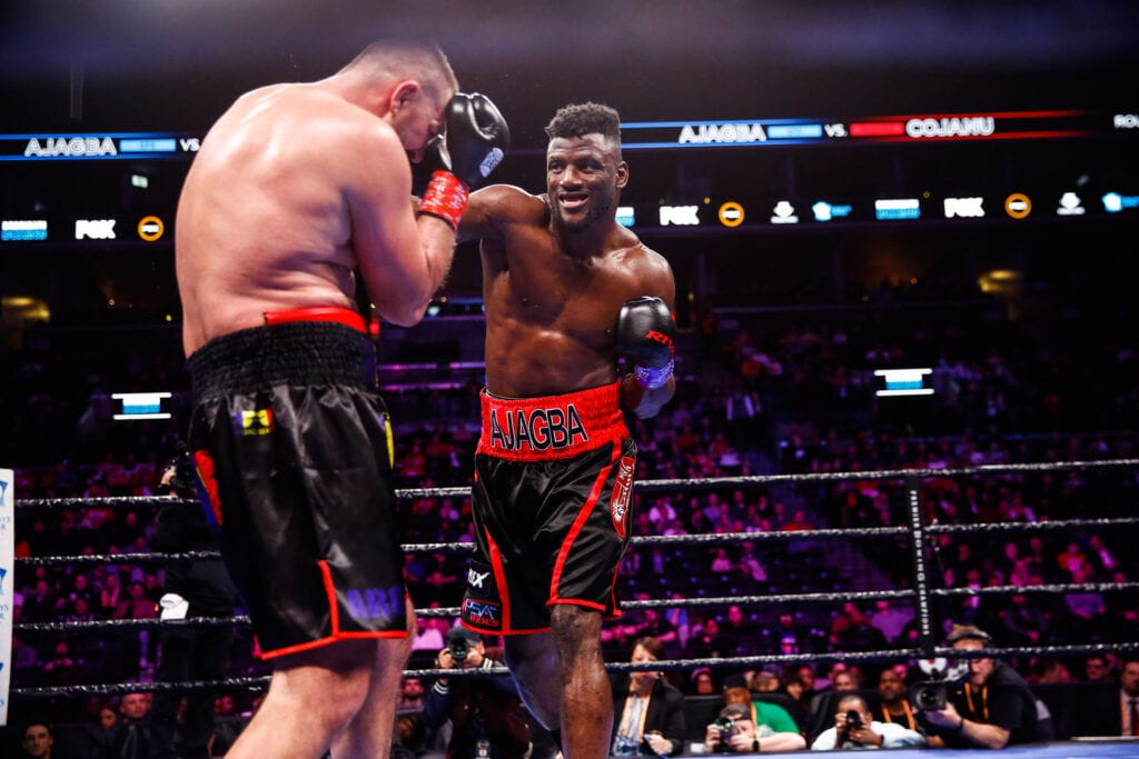 Efe Ajagba Debuts in Top Rank Bubble Saturday