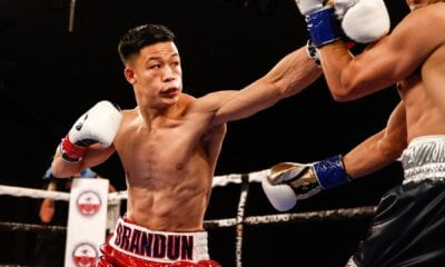 Brandun Lee In Action In March