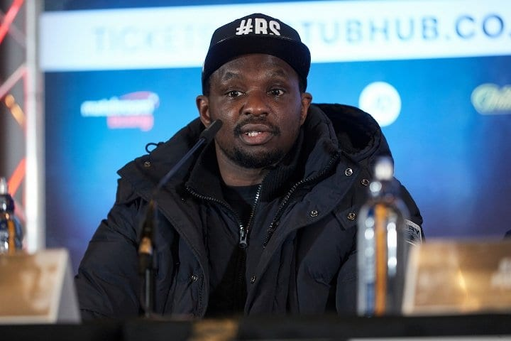 Whyte Continues Preparation For Povetkin Rematch