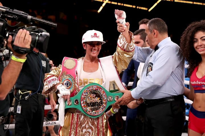 Lightweight champion Katie Taylor to fight Amanda Serrano in Manchester