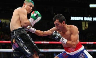 Joseph Diaz Misses Weight, Loses IBF Belt on scale