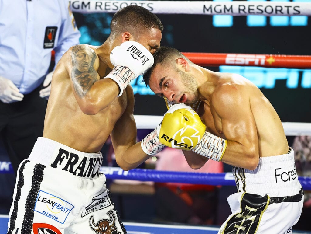 WBA Orders Third Joshua Franco-Andrew Moloney Fight