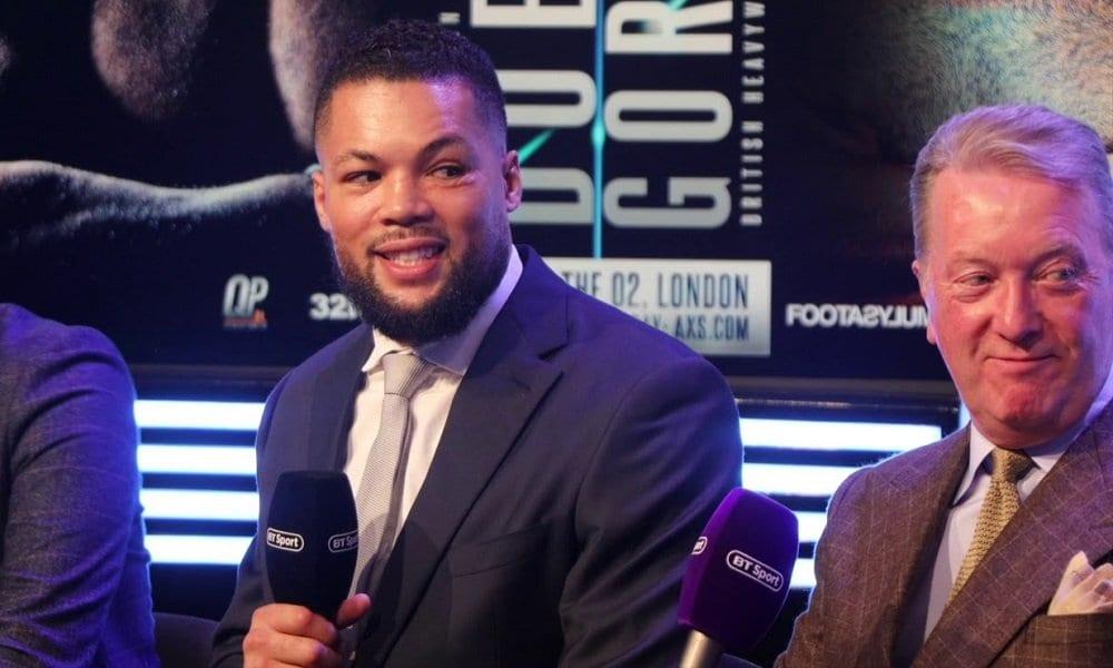 England's Payne- Intrigue Builds For Dubois-Joyce Heavyweight Clash