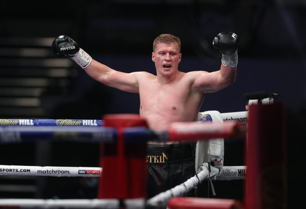 Report- Whyte-Povetkin Rematch Set For November 14th