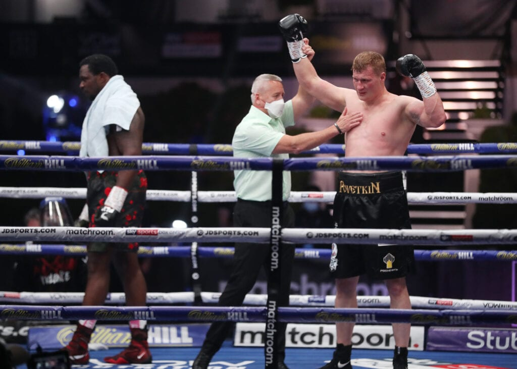 Dillian Whyte vs Alexander Povetkin 2 Goes Down On November 21st""