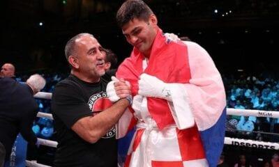 Filip Hrgovic Overmatches Radonjic