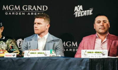 Golden Boy filed Monday To Make Canelo Go To Arbitration