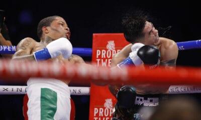 Gervonta Davis Ended Leo Santa Cruz Fight With Thunderous Left