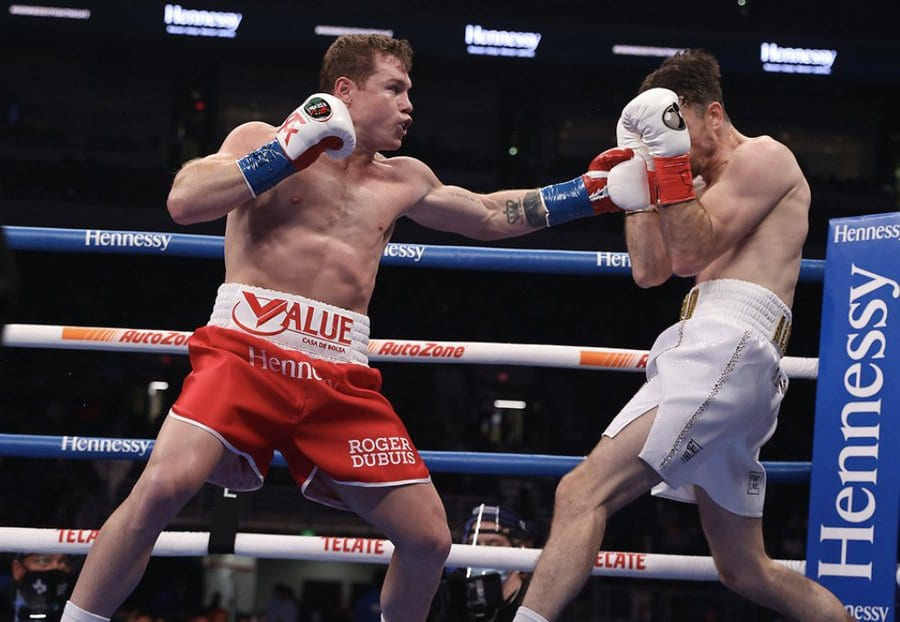 Canelo planned February Mexico Fight Will Now Be In USA