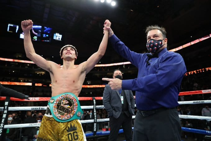 Ryan Garcia Answered Doubters With Campbell KO Saturday