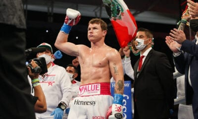 Canelo Touches Down In Dallas Ahead Of Saturday Defense