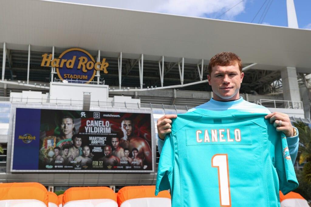 Canelo Ready For Showdown In Miami