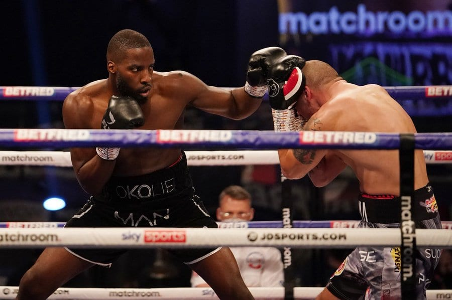 Okolie Crowned Champ Off Interesting Saturday Of Fights