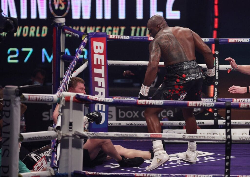 Dillian Whyte Back In Heavyweight Discussion