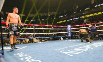 Vergil Ortiz Got Hard Fought Stoppage Saturday Night