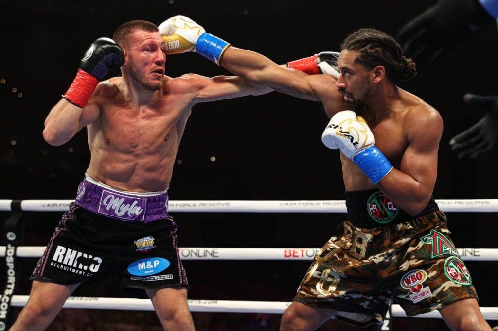 Demetrius Andrade Cruised Easy Win Over Liam Williams Saturday