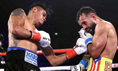 Navarette And Diaz Showed Respect Out Of Ring Late Saturday