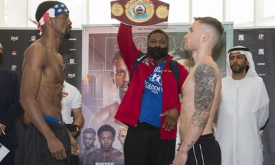 Jamel Herring Stops Carl Frampton In Dubai
