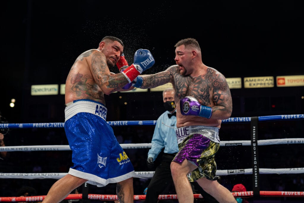Andy Ruiz Outlasts Chris Arreola In Carson