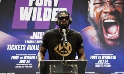 """Deontay Wilder Chose """"Silent Treatment"""" To Questions Tuesday"""
