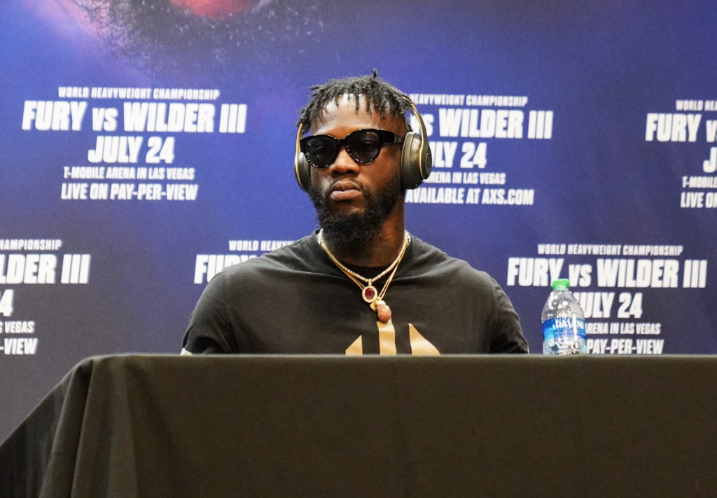 Deontay Wilder - 'I Just Want To Beat His Ass'