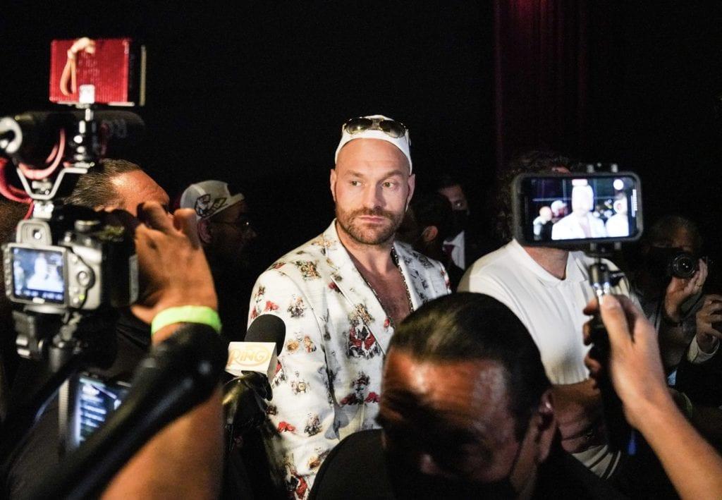 Tyson Fury Created Covid 19 Quarantine Controversy Wednesday