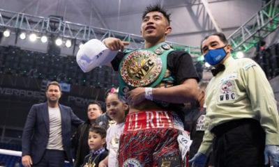 Julio Cesar Martinez Stops Cordova In Six