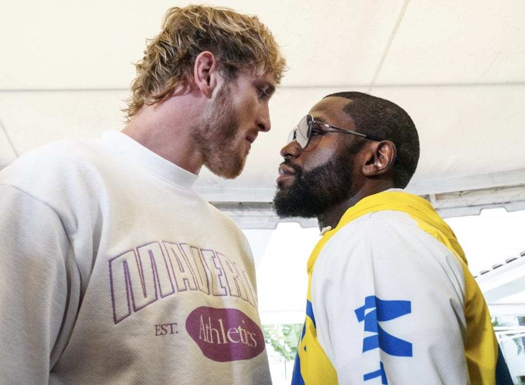 Logan Paul Tipped Scales 30 Pounds Heavier Than Floyd Mayweather