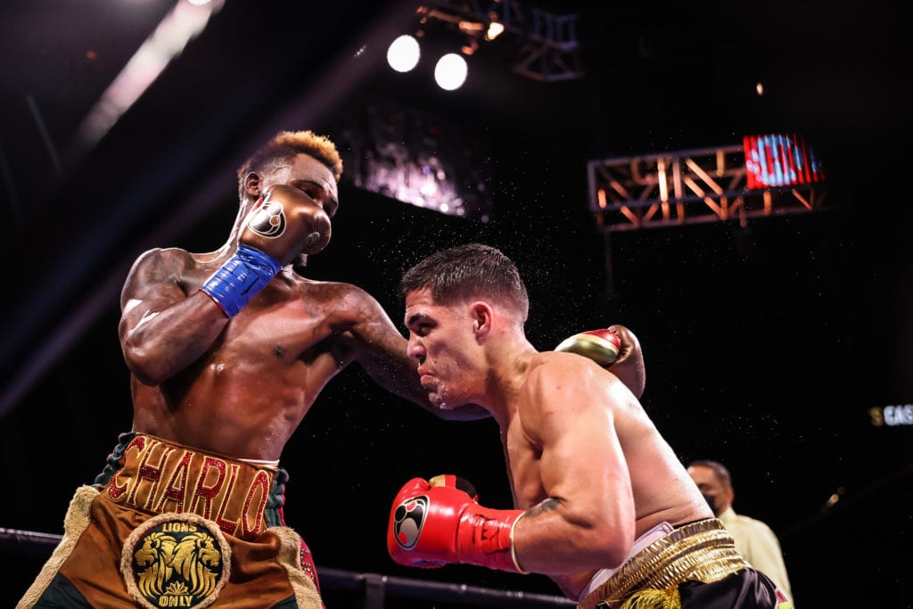 Brian Castano and Jermell Charlo Fight To A Draw