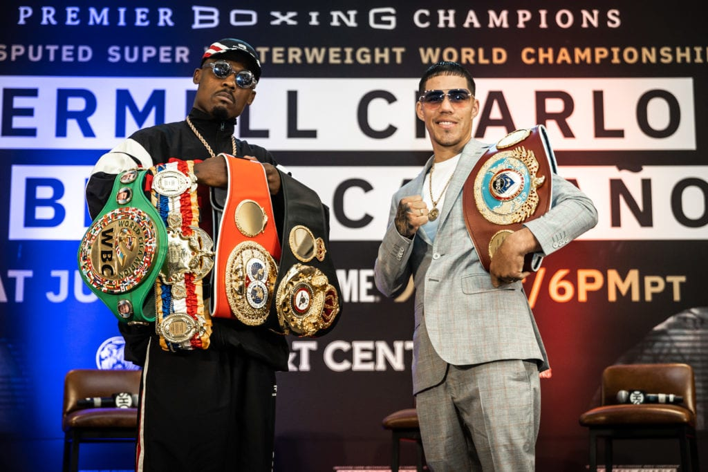 Jermell Charlo-Brian Castano Battle For Place In History
