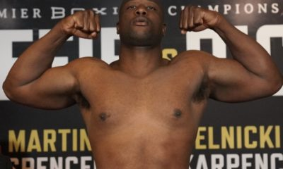 Jonnie Rice Stops Michael Coffie In Five Rounds