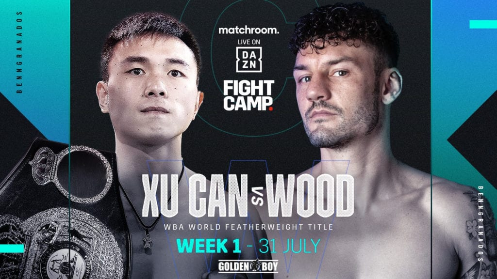 Xu Can-Leigh Wood In Action On Benn-Granados Bill